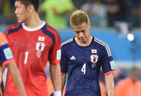ワールドカップ2014 グループC  日本 – ギリシャ