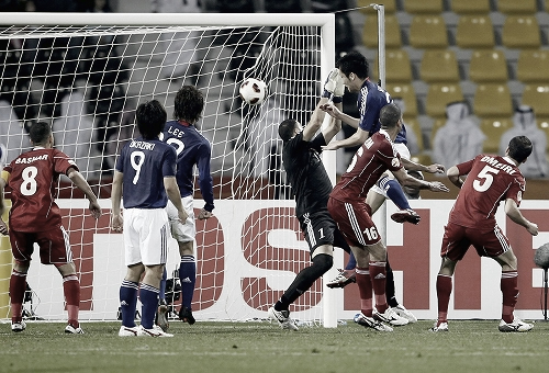 アジアカップ2007 ヨルダン-日本 2011年1月9日 吉田麻也 ゴール