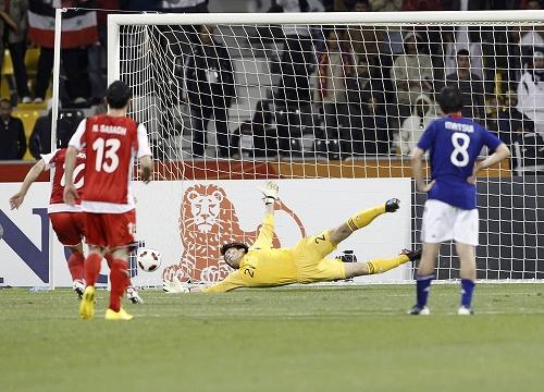 アジアカップ2011 シリア-日本 2011年1月13日