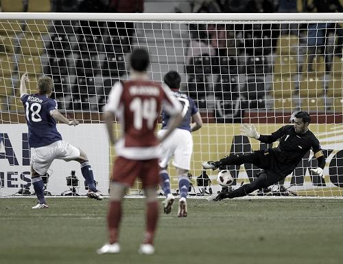 アジアカップ2011 シリア-日本 2011年1月13日 本田PK