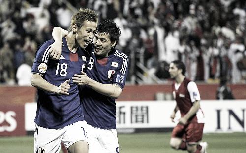 アジアカップ2011 シリア-日本 2011年1月13日 本田