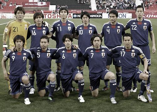アジアカップ2007 サウジアラビア-日本 2011年1月17日 記念写真