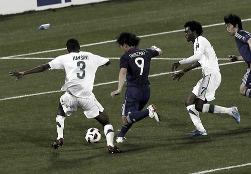 アジアカップ2007 サウジアラビア-日本 2011年1月17日 岡崎