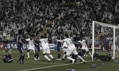 アジアカップ 準々決勝 カタール-日本 2011年1月21日