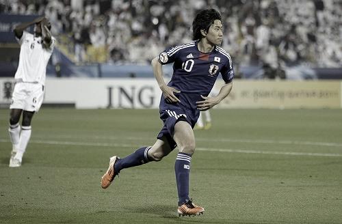 アジアカップ 準々決勝 カタール-日本 2011年1月21日 香川