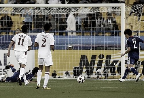 アジアカップ 準々決勝 カタール-日本 2011年1月21日 伊野波