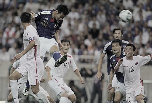 ワールドカップ アジア3次予選 日本 VS 北朝鮮 吉田