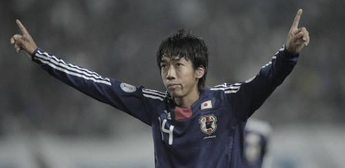 ワールドカップ アジア3次予選 日本 VS タジキスタン 2011年10月11日 中村憲剛