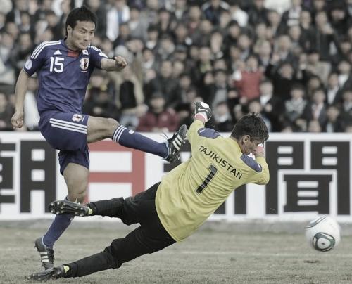 ワールドカップ2014アジア3次予選 タジキスタン-日本 今野