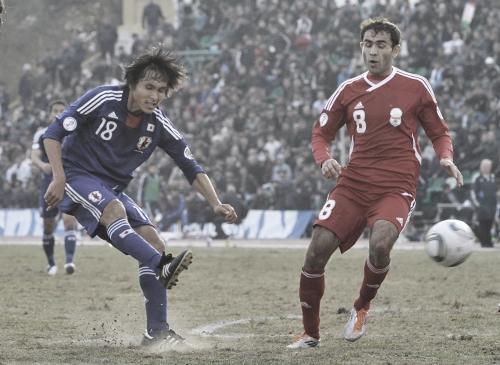 ワールドカップ2014アジア3次予選 タジキスタン-日本 前田