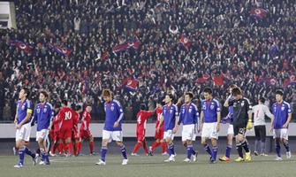 ワールドカップ2014アジア3次予選 北朝鮮-日本
