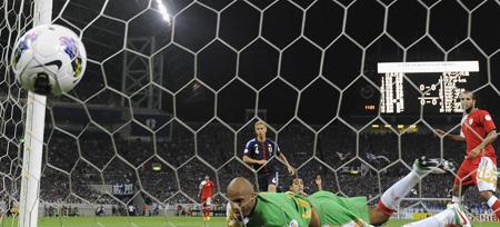 ワールドカップ2014アジア最終予選 日本-オマーン 2012年6月3日