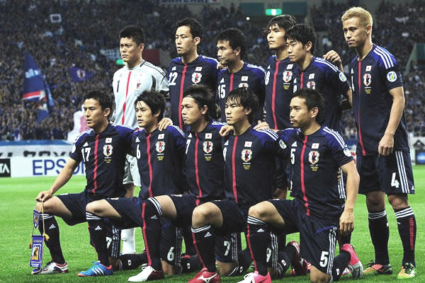 ワールドカップ2014アジア最終予選 日本-ヨルダン 2012年6月8日 メンバー