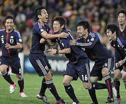 ワールドカップ2014アジア最終予選 オーストラリア-日本 栗原