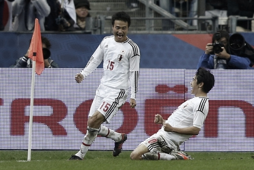 国際親善試合 フランス-日本 香川