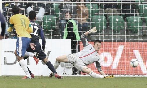 国際親善試合 ブラジル-日本 カカ