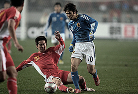 東アジア選手権2008 中国-日本