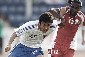 ワールドカップ2010予選 オマーン-日本