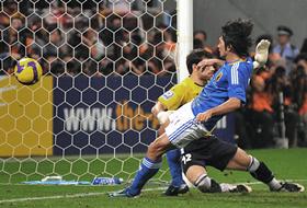 ワールドカップ2010最終予選 日本-ウズベキスタン