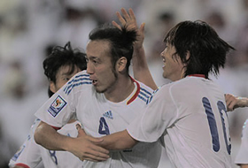 ワールドカップ2010最終予選 カタール-日本