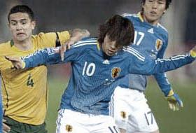 ワールドカップ2010予選 日本-オーストラリア