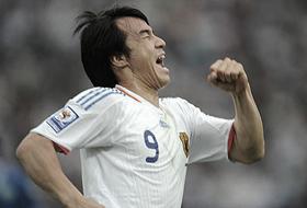 ワールドカップ2010最終予選 ウズベキスタン-日本