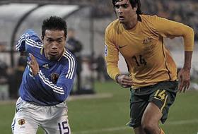 ワールドカップ2010最終予選 オーストラリア-日本