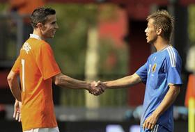 国際親善試合 オランダ-日本