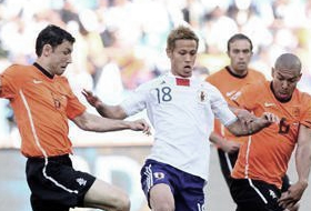 ワールドカップ2010 グループE オランダ-日本