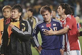 ワールドカップ2010 日本-パラグアイ