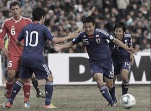 ワールドカップ2014アジア3次予選 タジキスタン-日本
