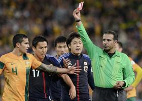 ワールドカップ2014アジア最終予選 オーストラリア-日本