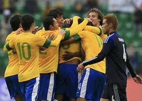 国際親善試合 ブラジル-日本