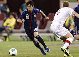 親善試合 日本-カナダ