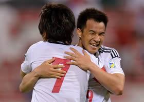 ワールドカップ2014アジア最終予選 イラク-日本