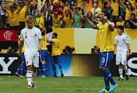 コンフェデ杯2013 グループリーグ ブラジル-日本
