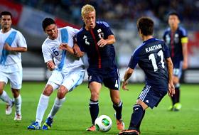 キリンチャレンジカップ 日本-グアテマラ